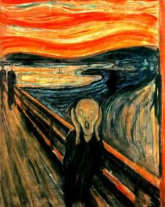 """""""El grito""""  E. Munch"""